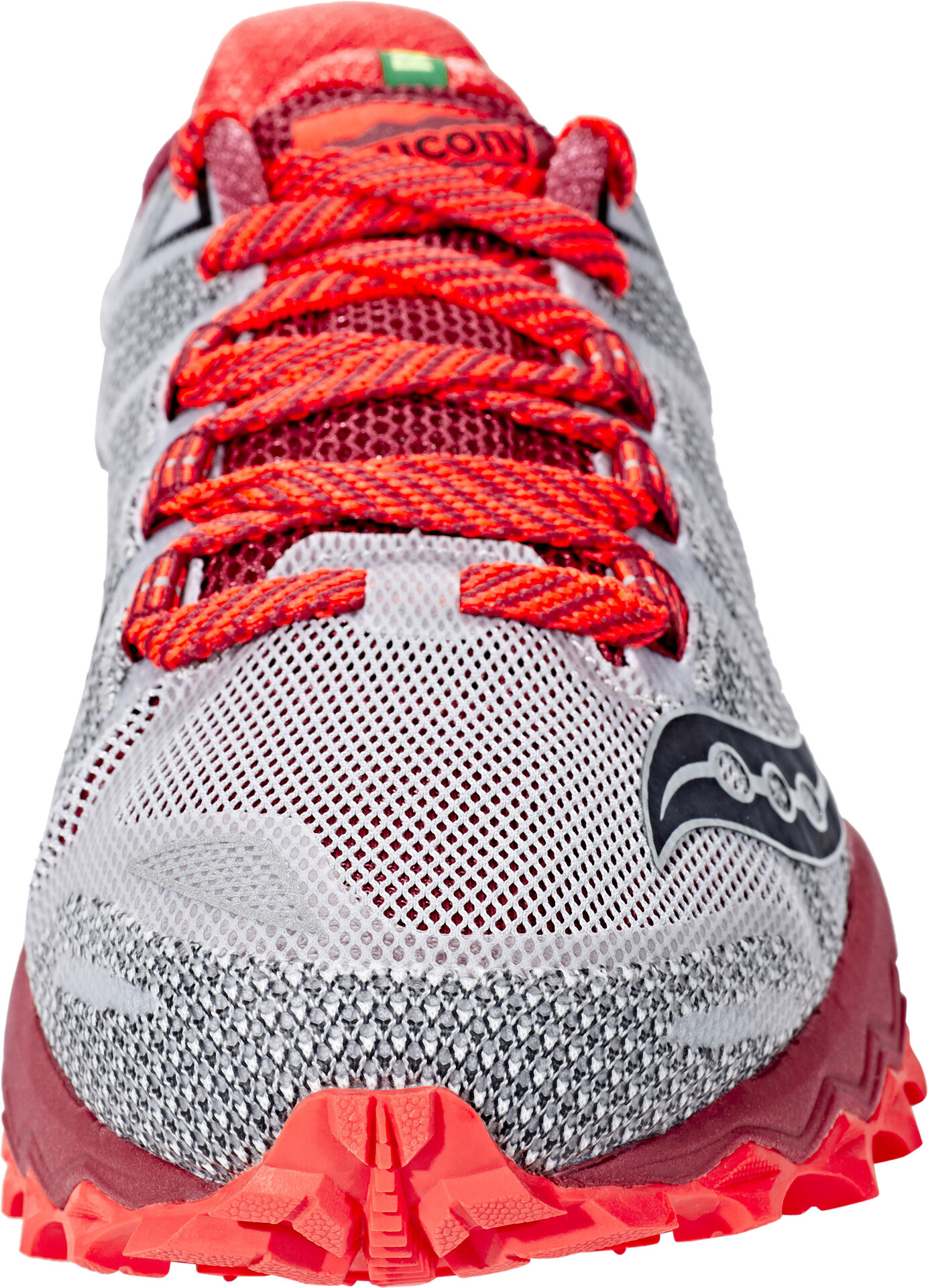 Femme 7 Peregrine Running Chaussures Saucony Grisrouge Ib6vYfgym7